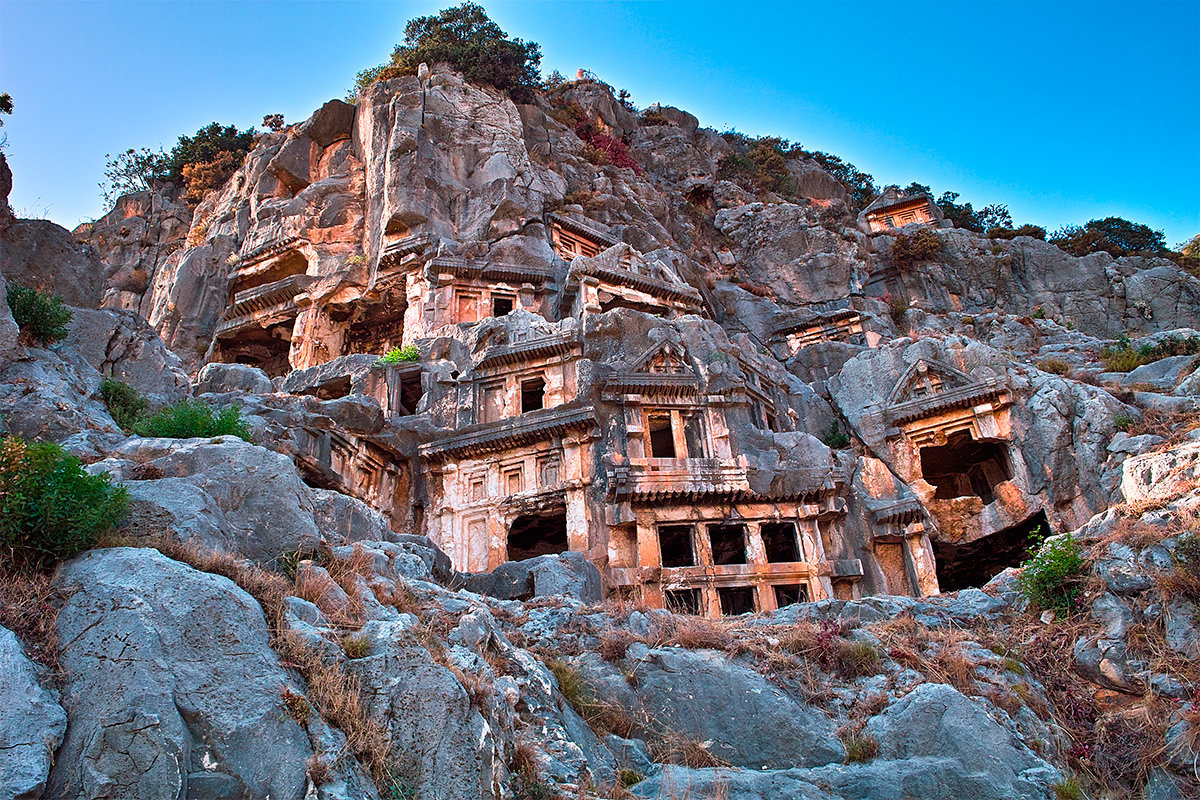 The ruins of Olympos, Kemer