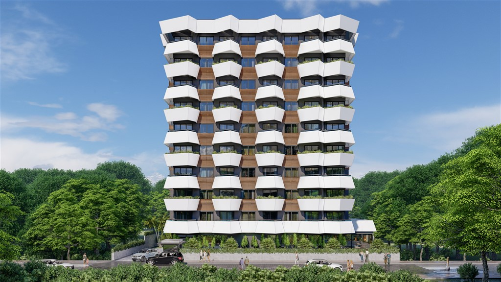Apartment Mahmutlar Turkey, from the developer at a price 14% below the market