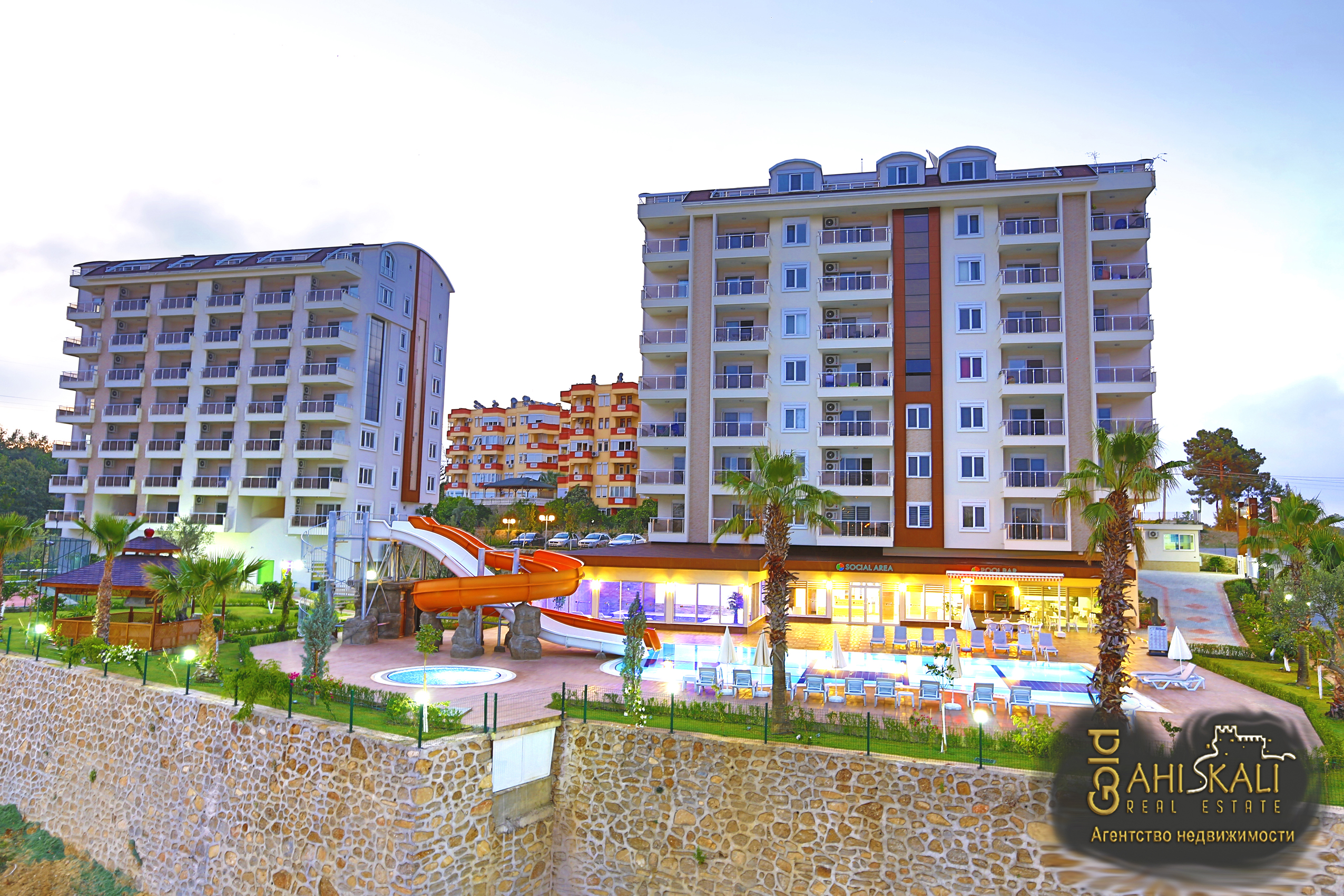 Property in Alanya by the sea from the developer