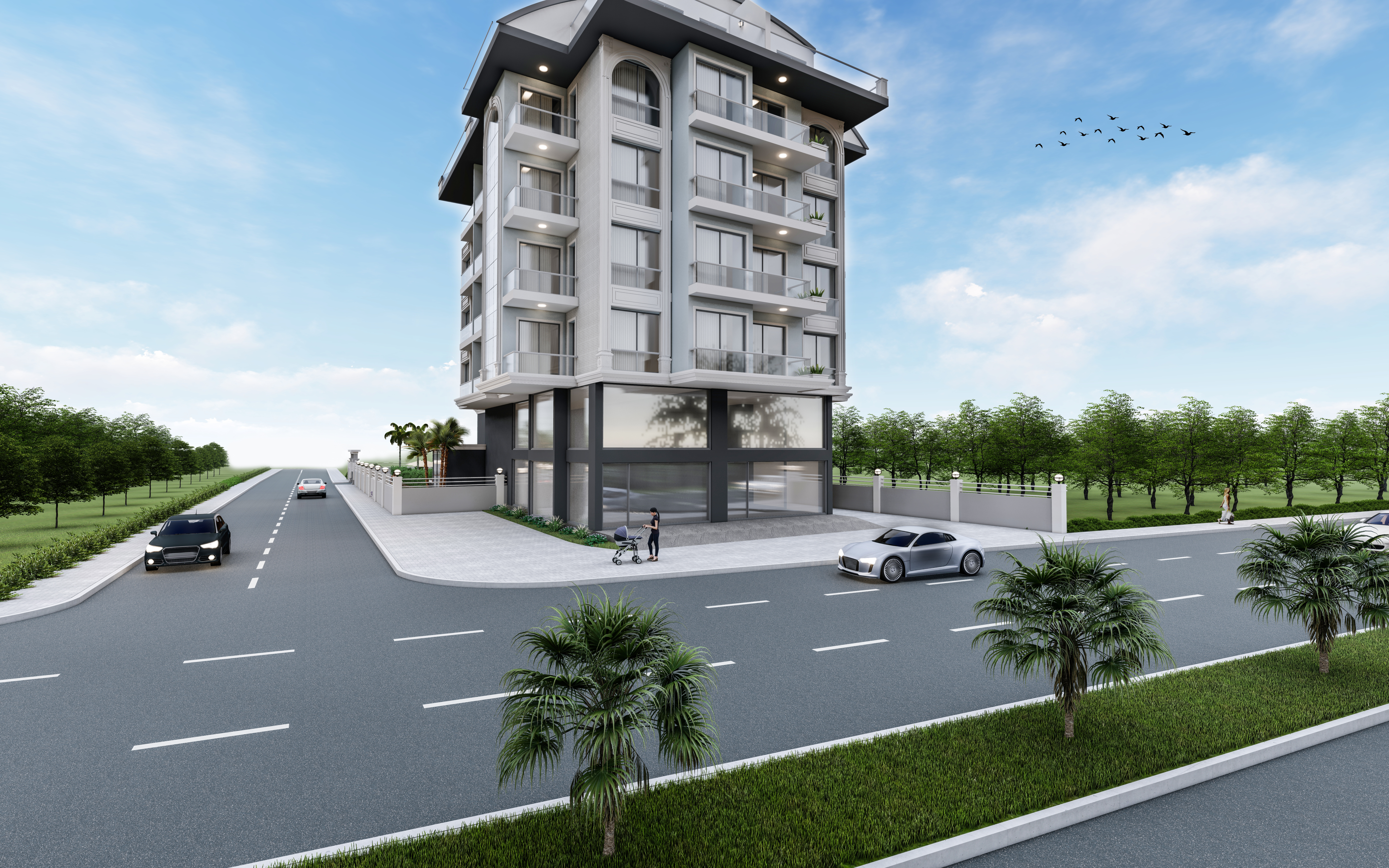 Alanya apartments from the developer