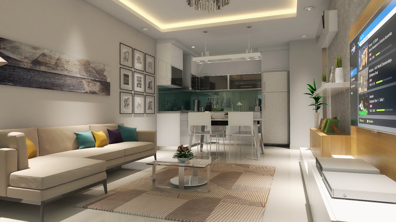 Modern apartments in the center of Alanya