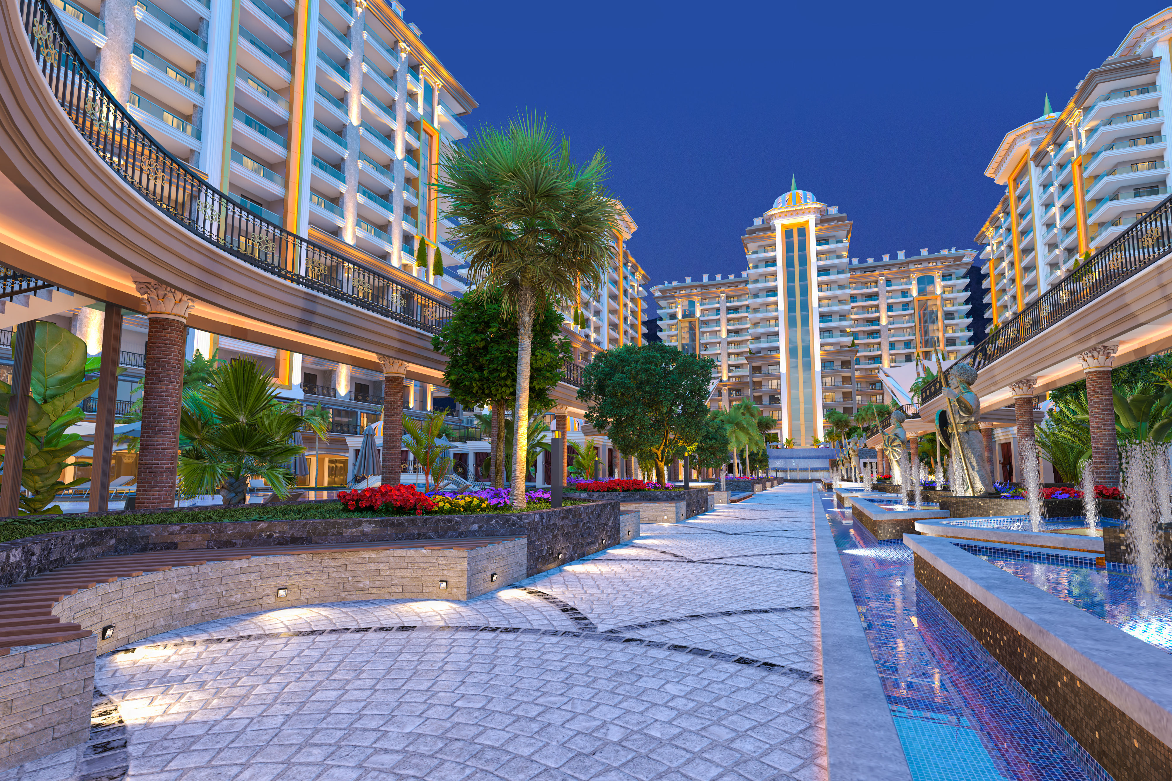 Apartments in Mahmutlar in an elite complex at a price 14% below the market