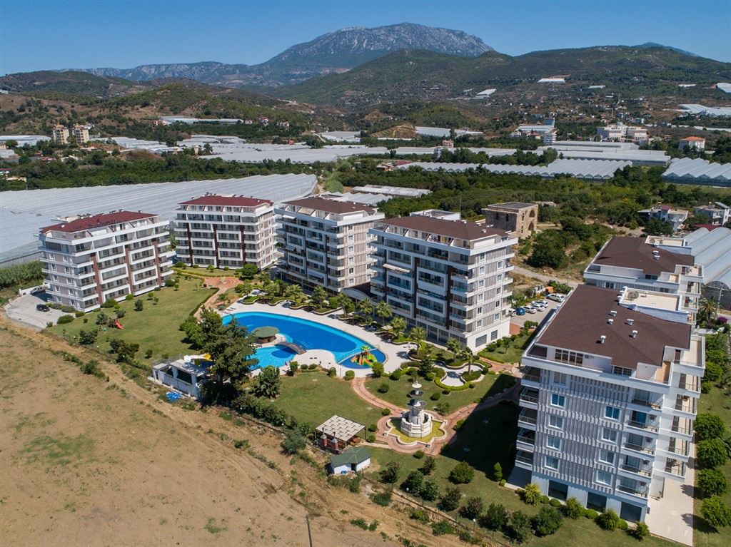 New residential complex in Alanya, Demirtas