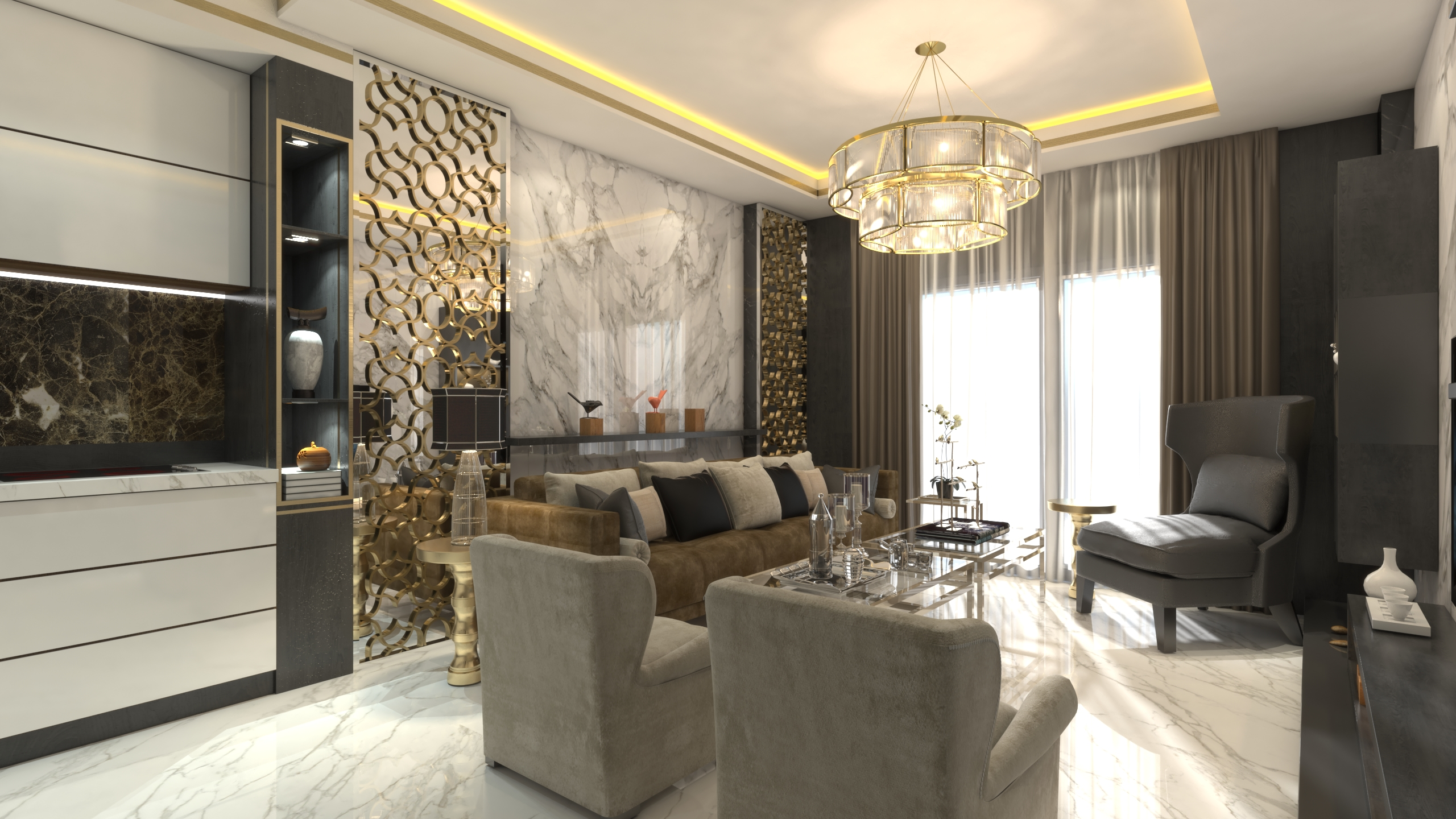 Apartments in the center of Mahmutlar, Alanya from the developer