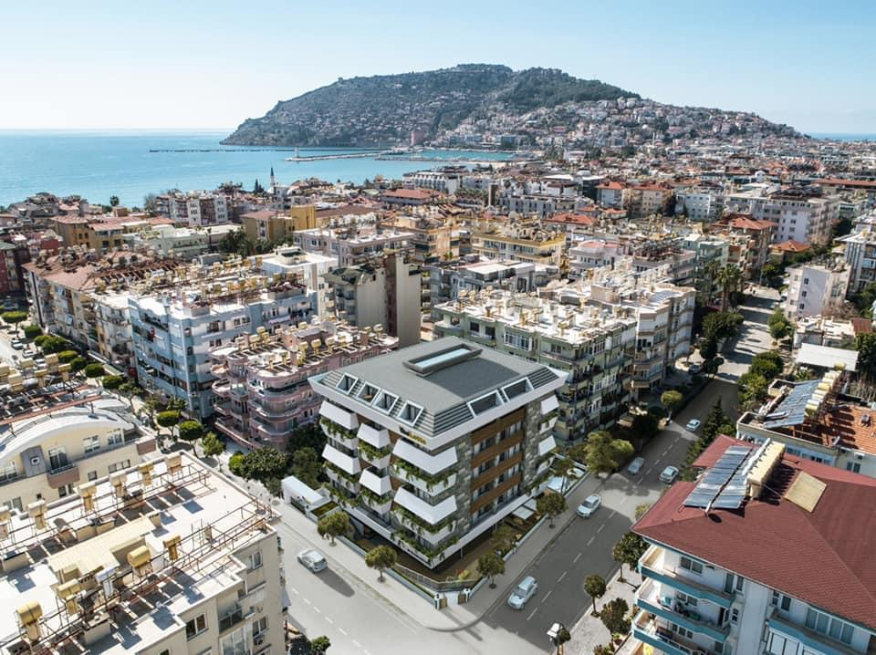 Apartments in the very center of Alanya in Turkey