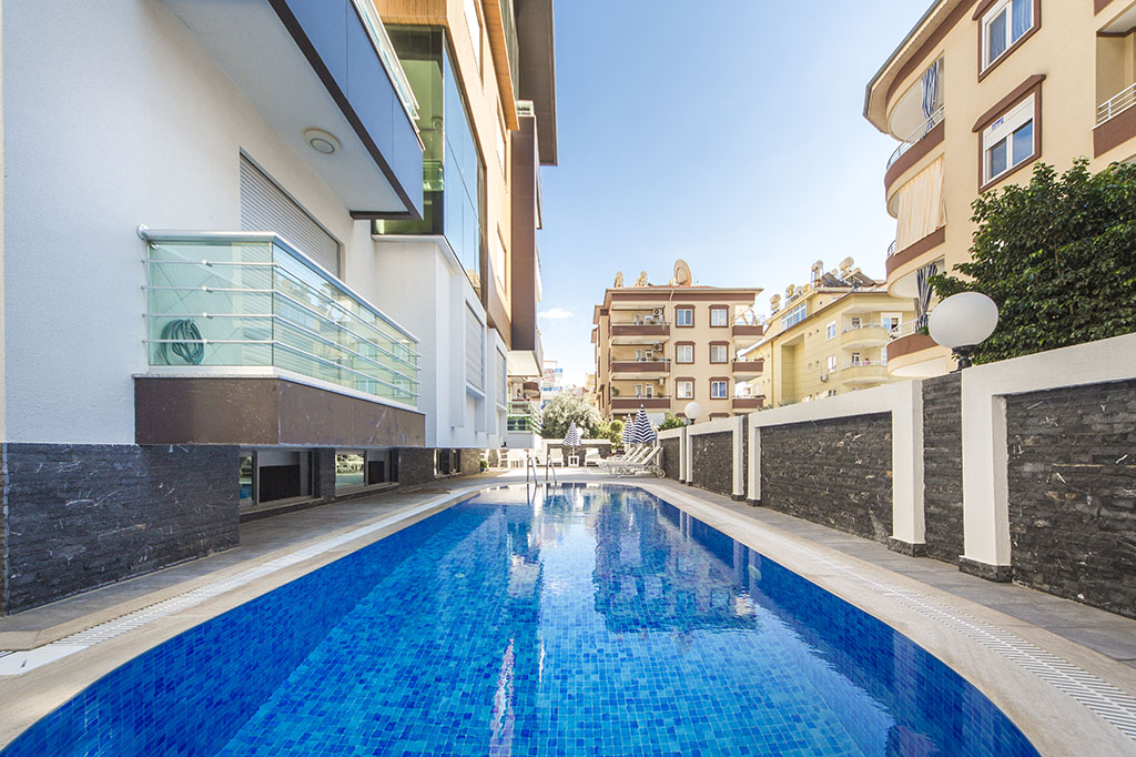 Luxury apartments in Oba area in Alanya, 0% mortgage