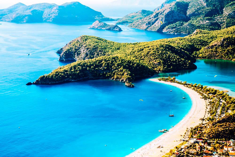 Sea temperature in Turkey